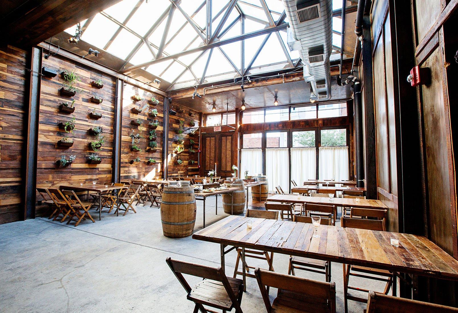 Brooklyn Winery in Williamsburg, Brooklyn