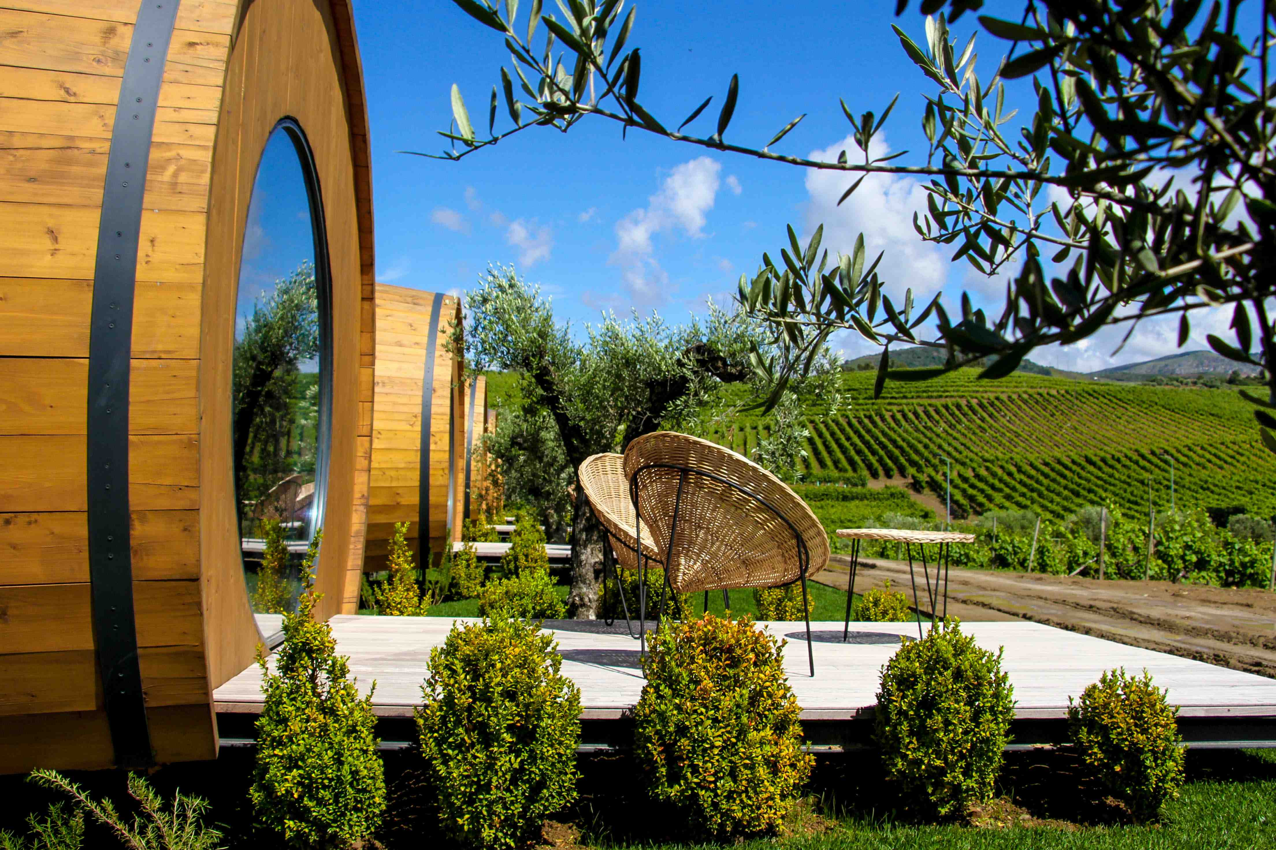 Sleep in a Giant Wine Barrel in Portugal And Drink Wine All Day