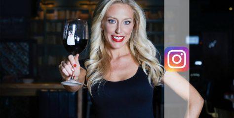@winechanneltv Jessica Altieri Instagram Wine Influencer